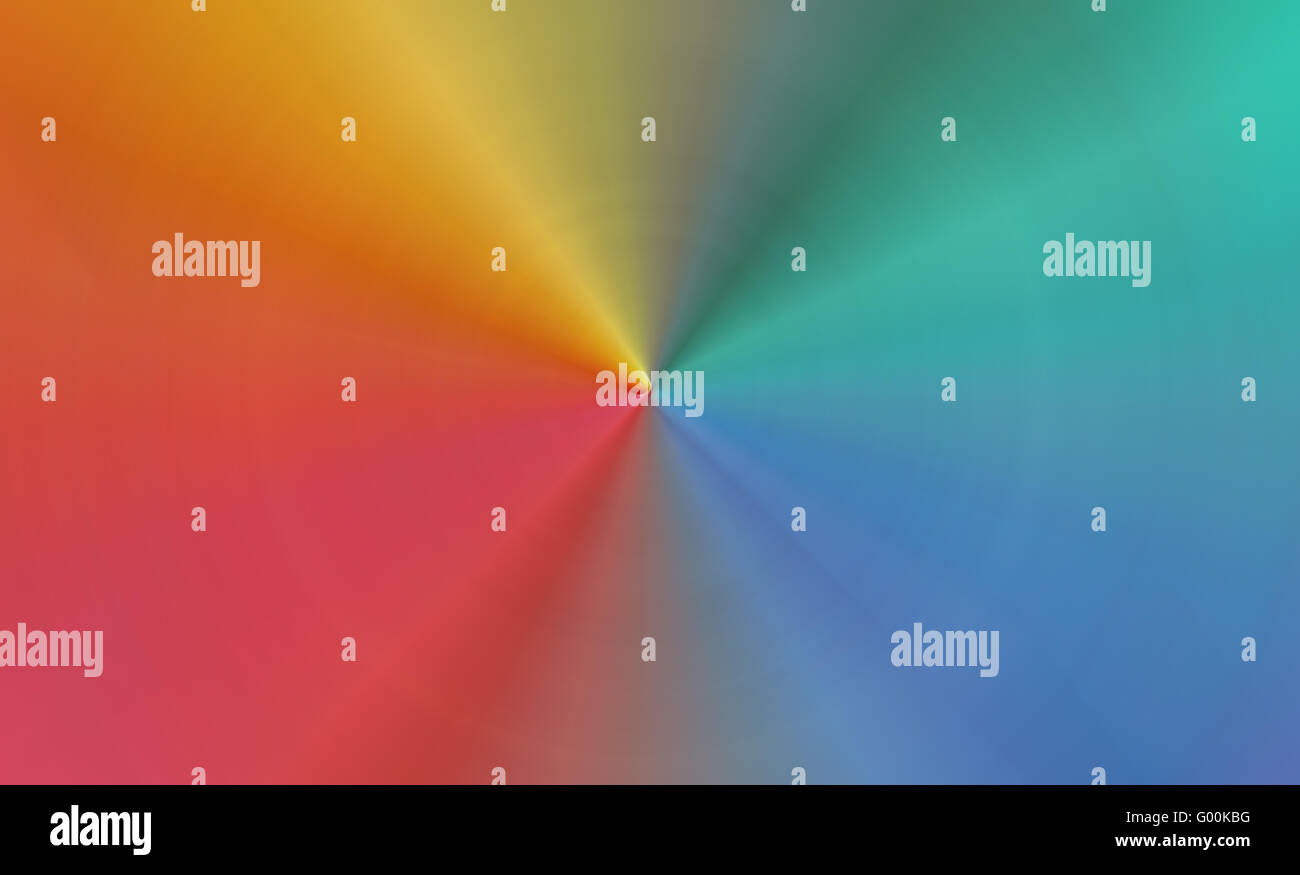 Abstract image of the color range - spectrum - Stock Image