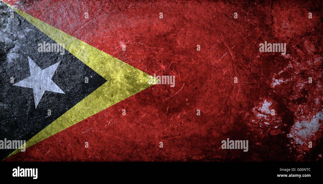 Timor-Leste Grunge Stock Photo