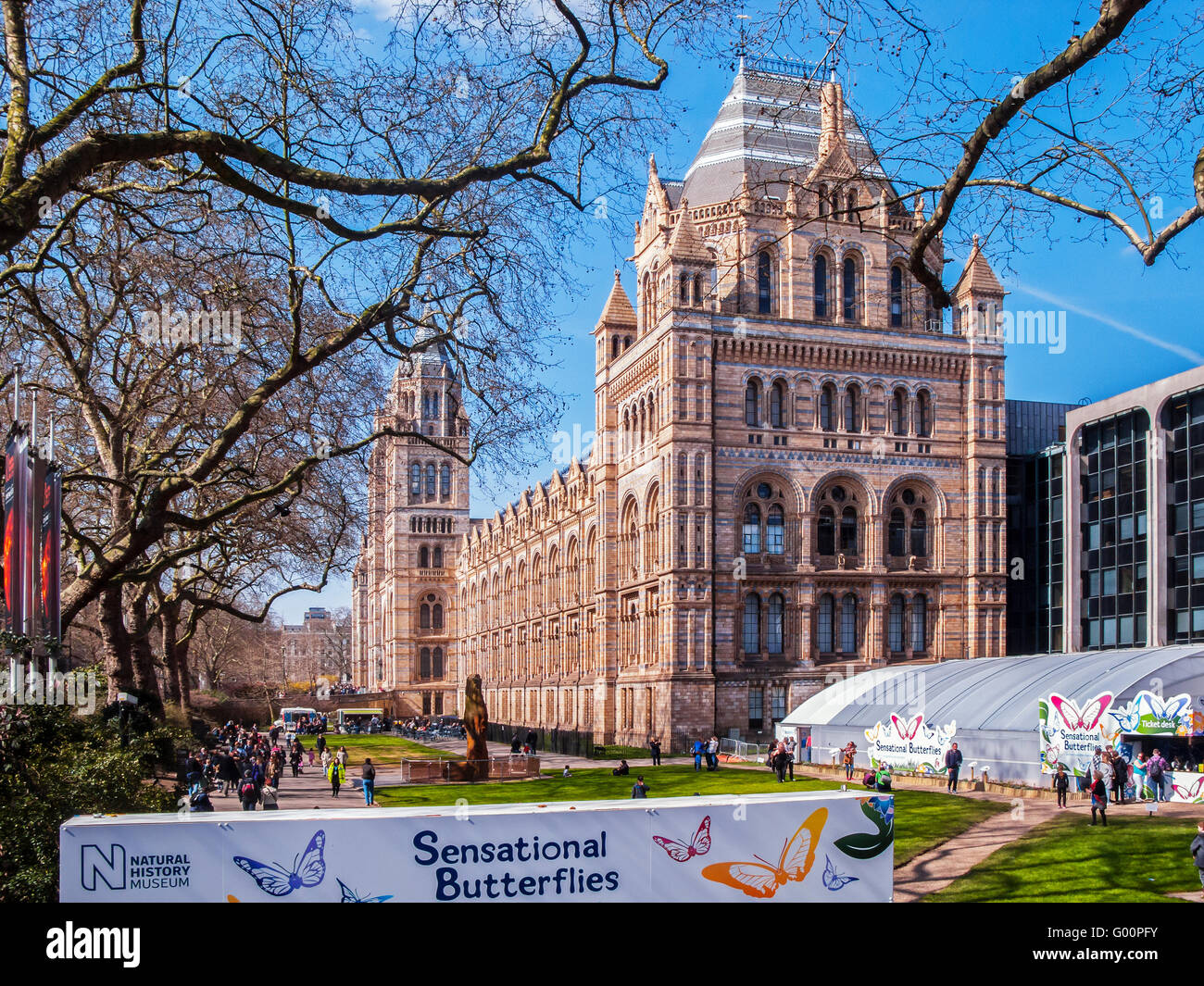 The Natural History Museum, London - Stock Image