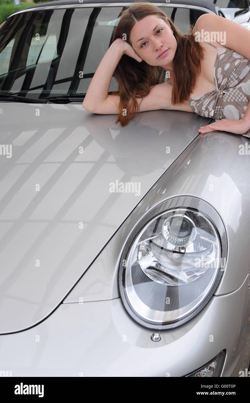 My german sports car Stock Photo