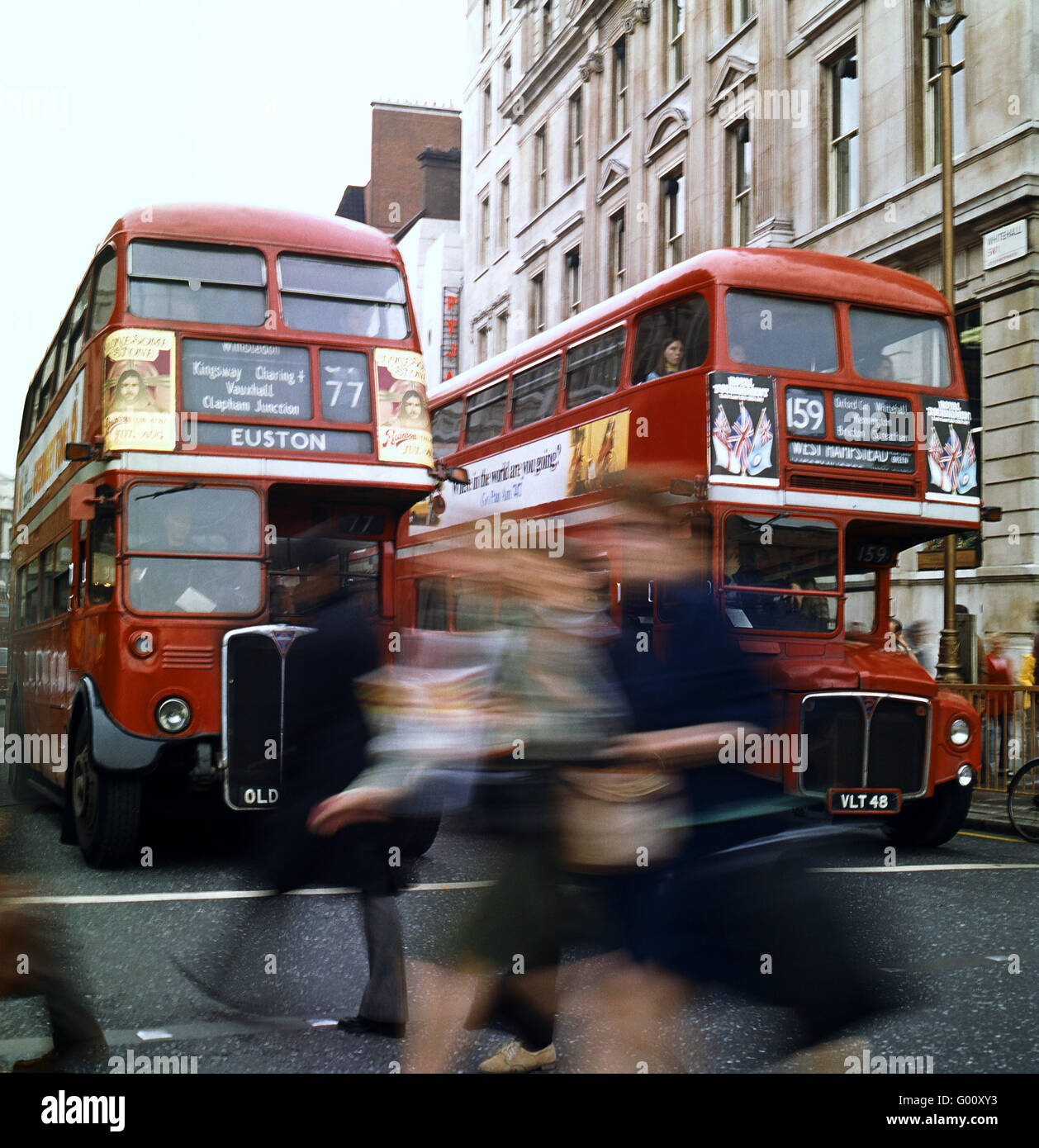 buses in London - Stock Image