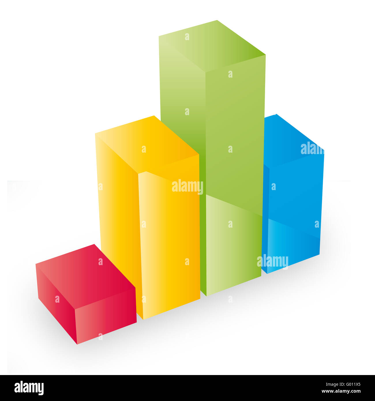 Colored Chart - Stock Image