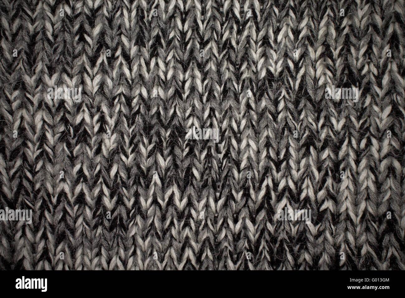 Close Up Photography Of Gray Knit Textile: Melange Knit Fabric Texture Closeup Stock Photo: 103286980
