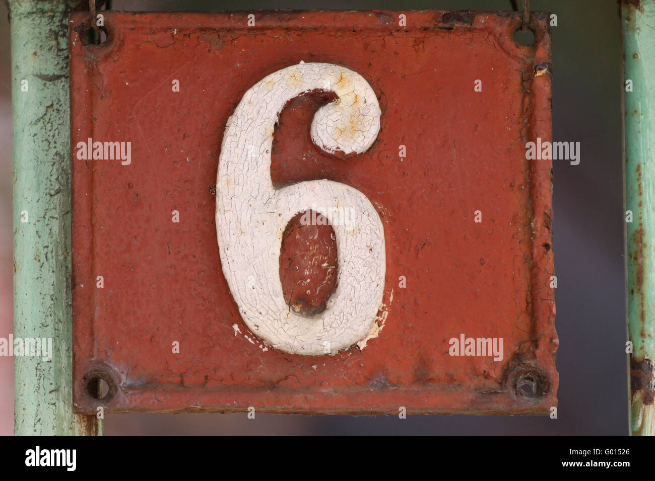 House Numbers In Different Styles And Colors