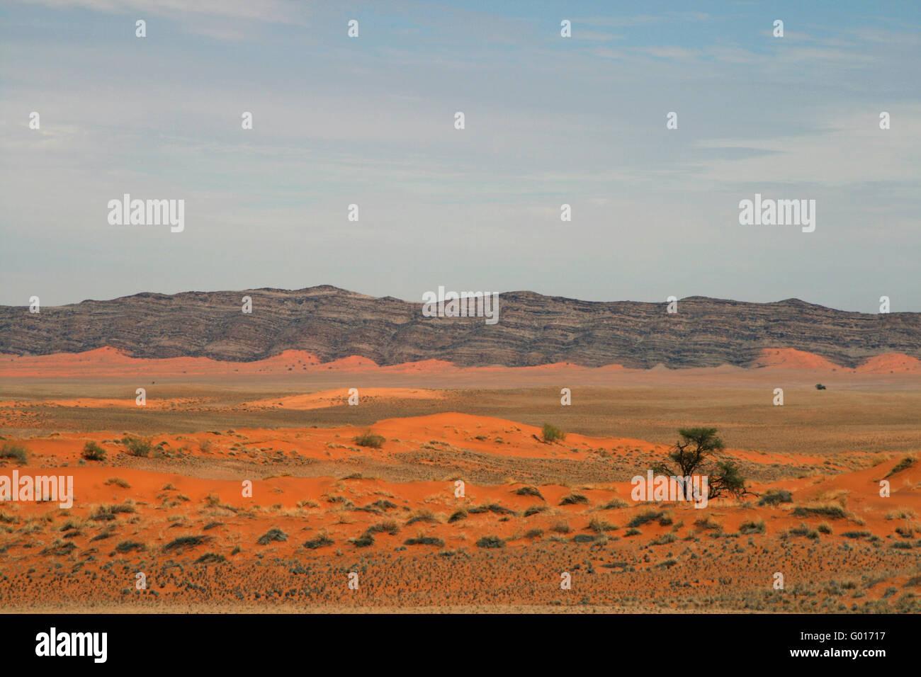 Namibia Landscape - Stock Image