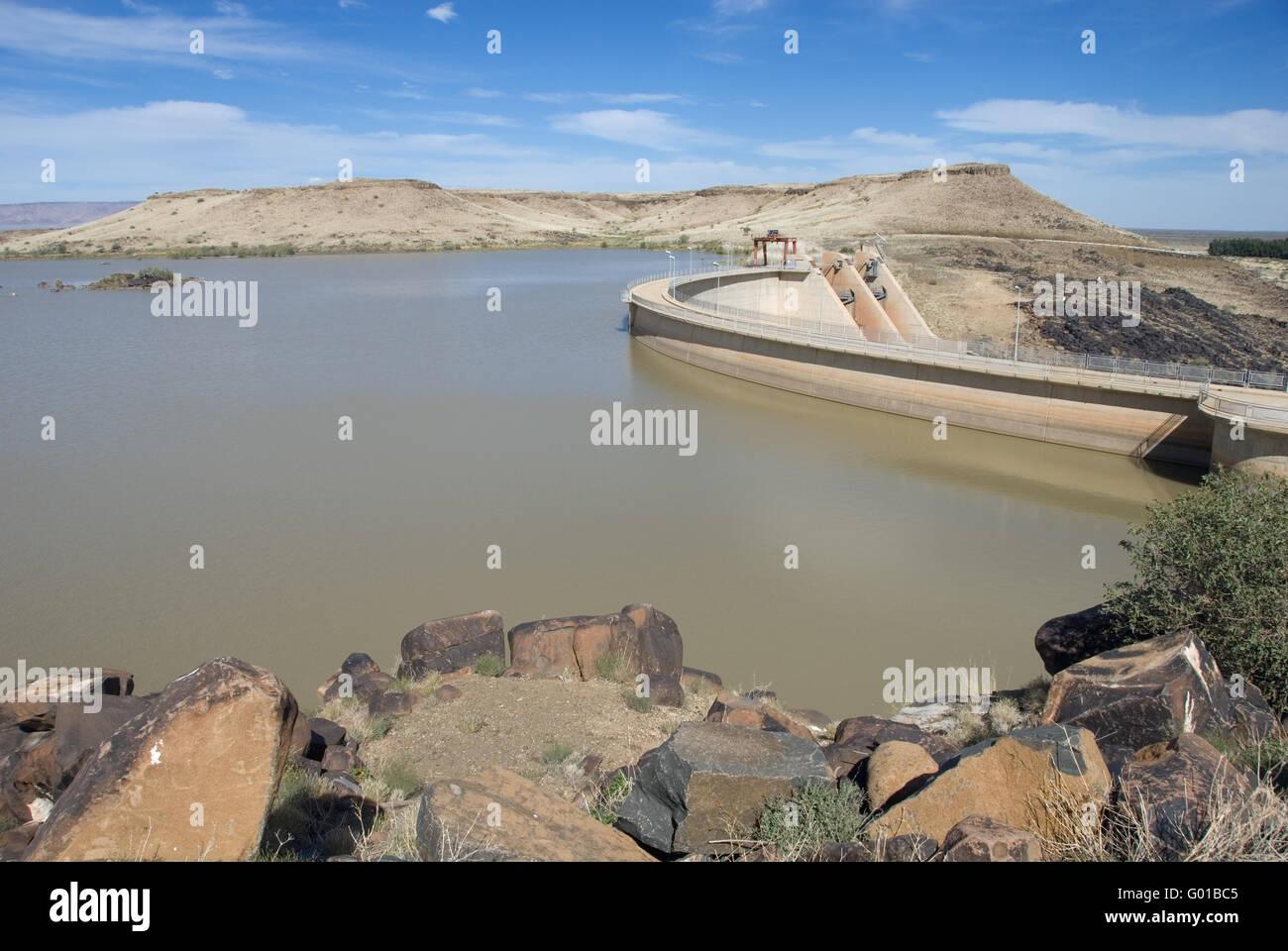 Reservoir Lake Stock Photo