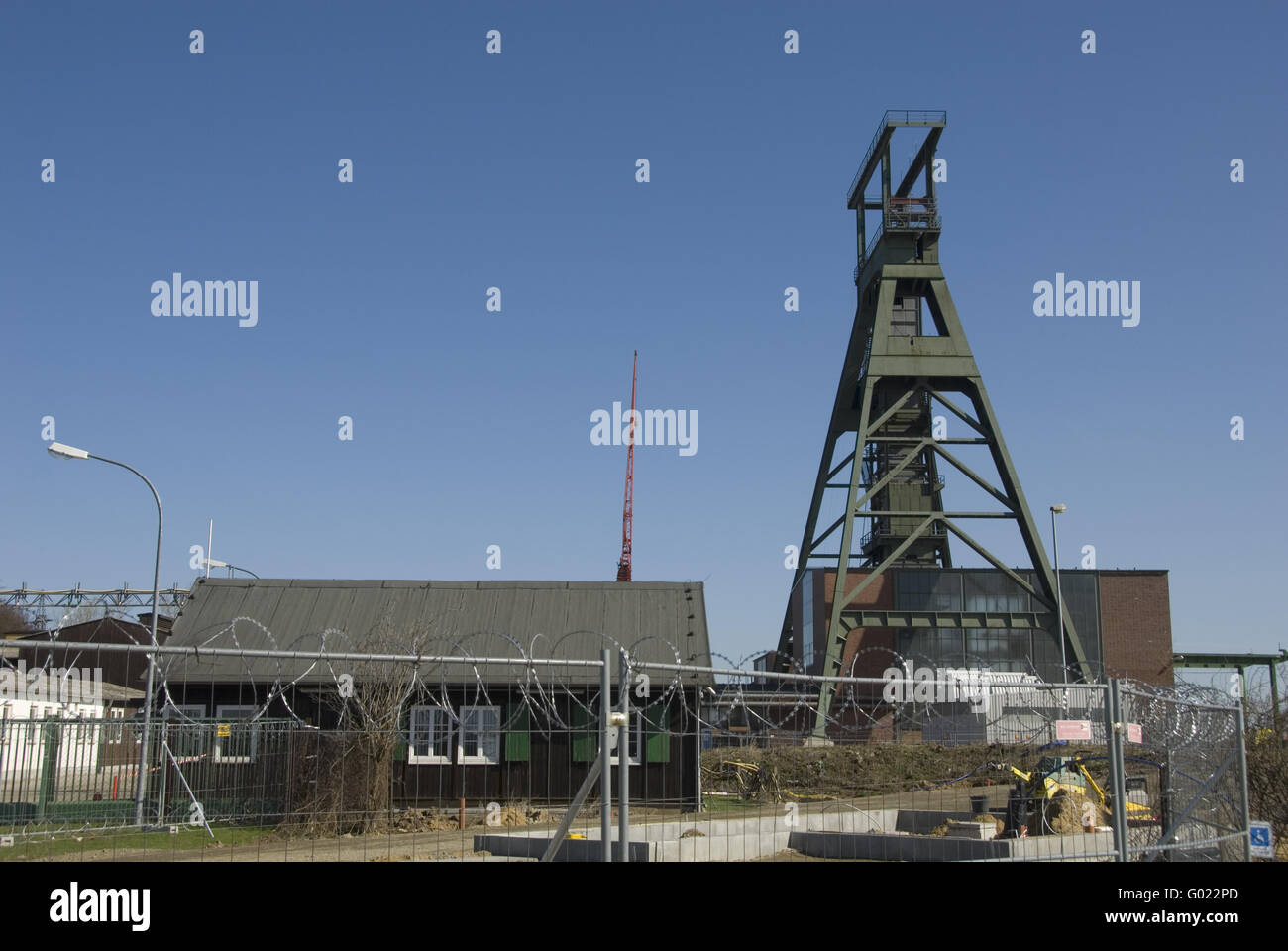 shaft tower Stock Photo