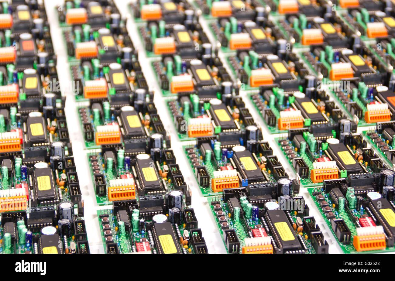 Elektronik Boards - Stock Image