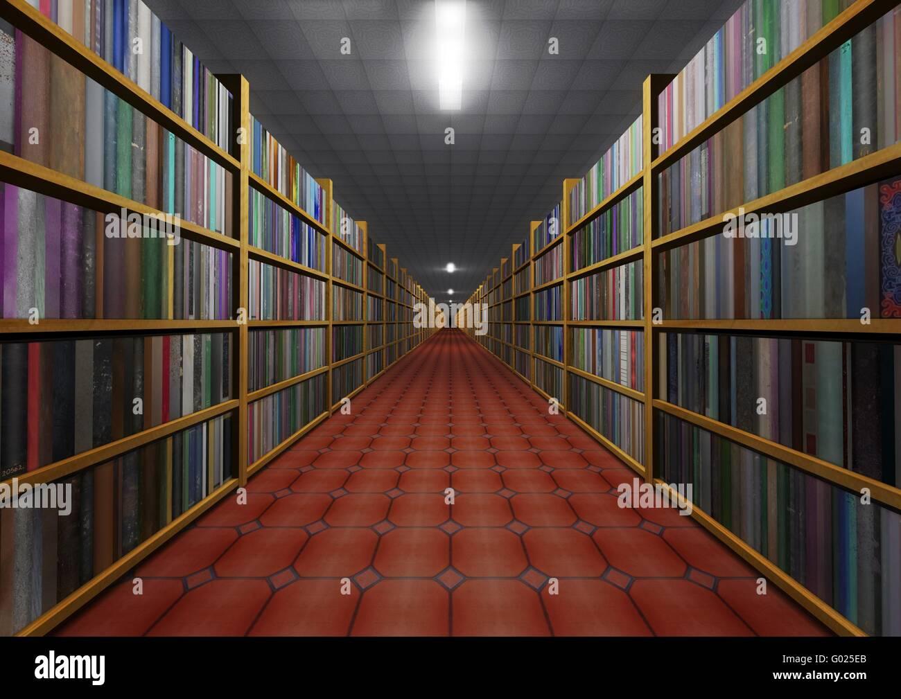 Bookstore - Stock Image
