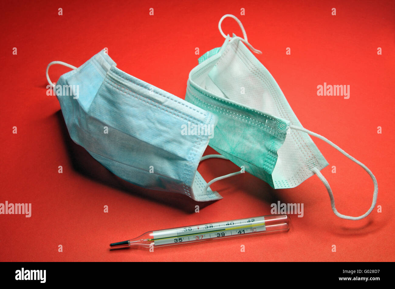 Medical means for protection against an infection and definition of diseases - Stock Image