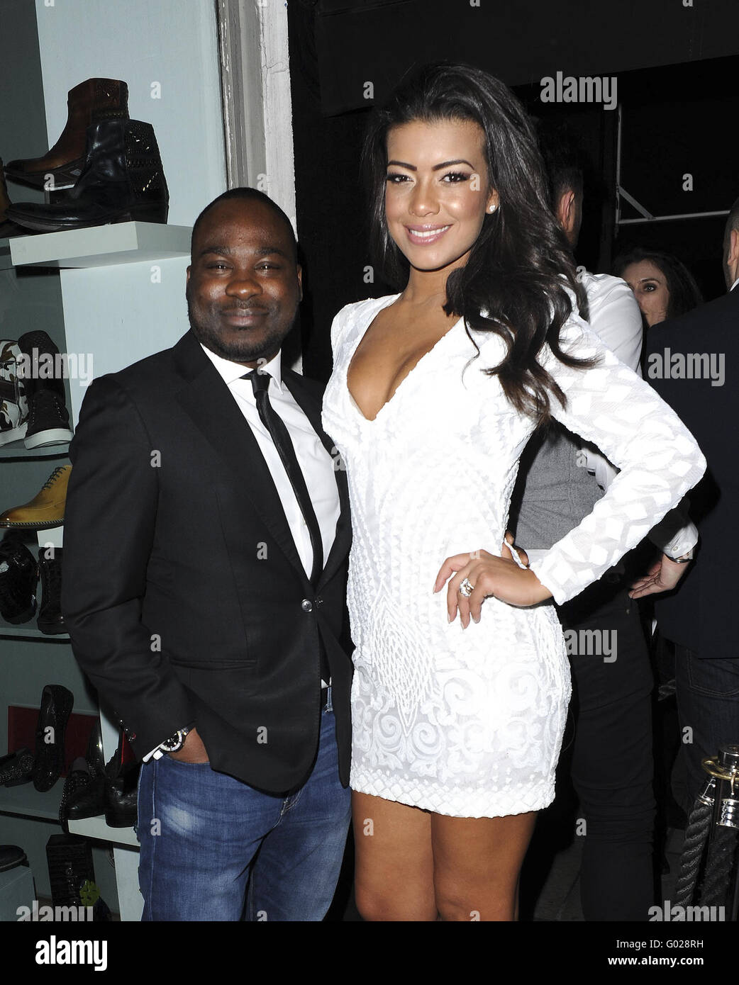 3350f84d6a Various Celebrities attend Chantelle Heskey And Rikaya Tagoe birthday party  Featuring  Rikaya Tagoe Where  London