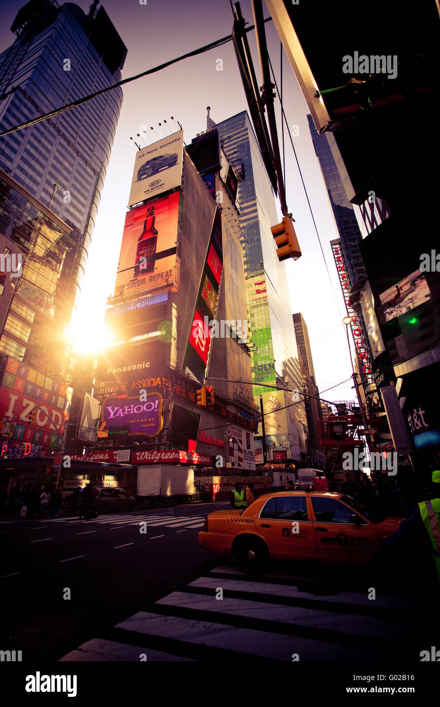 Time Square, New York - Stock Image