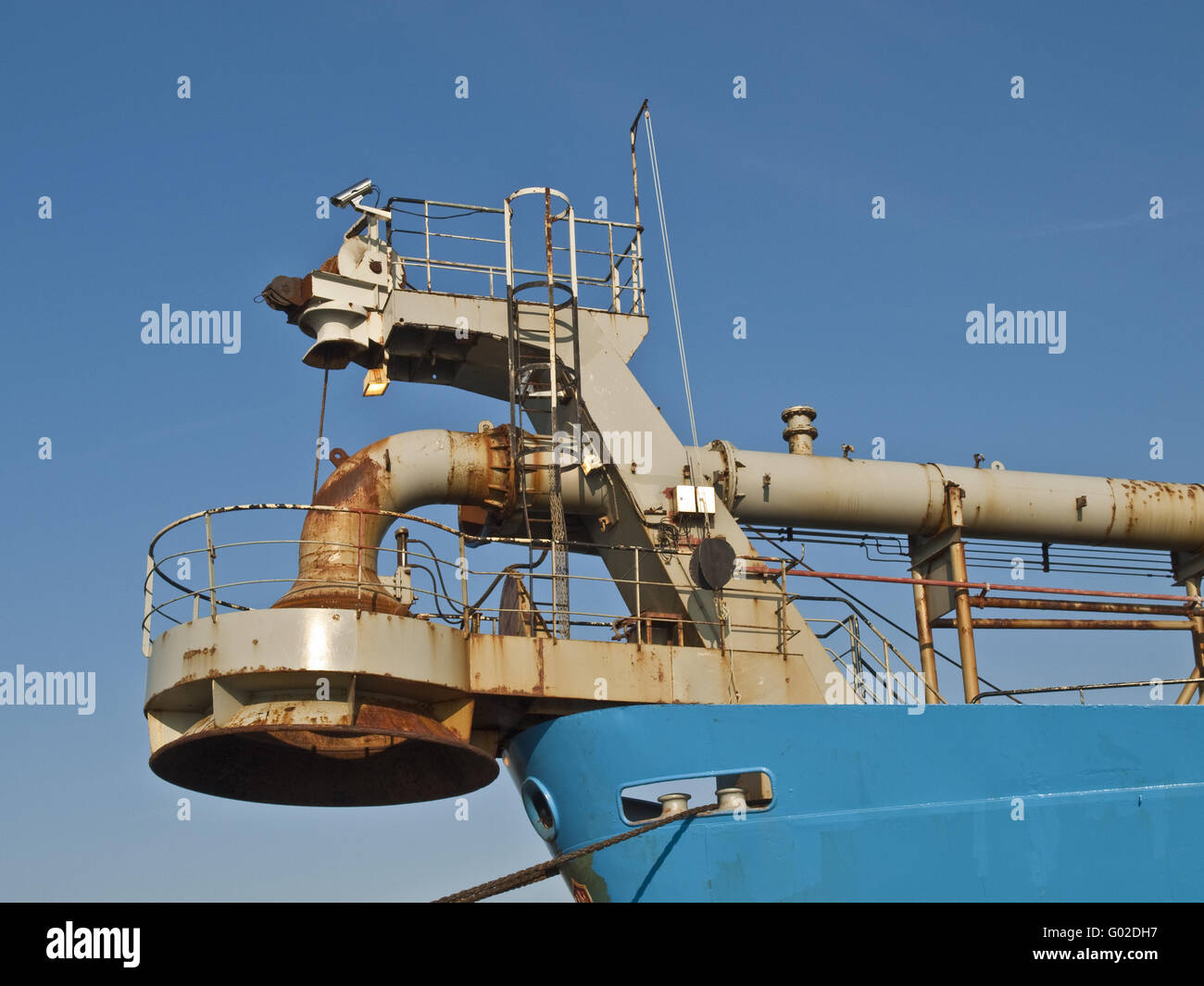 Hopper Dredger, Germany - Stock Image