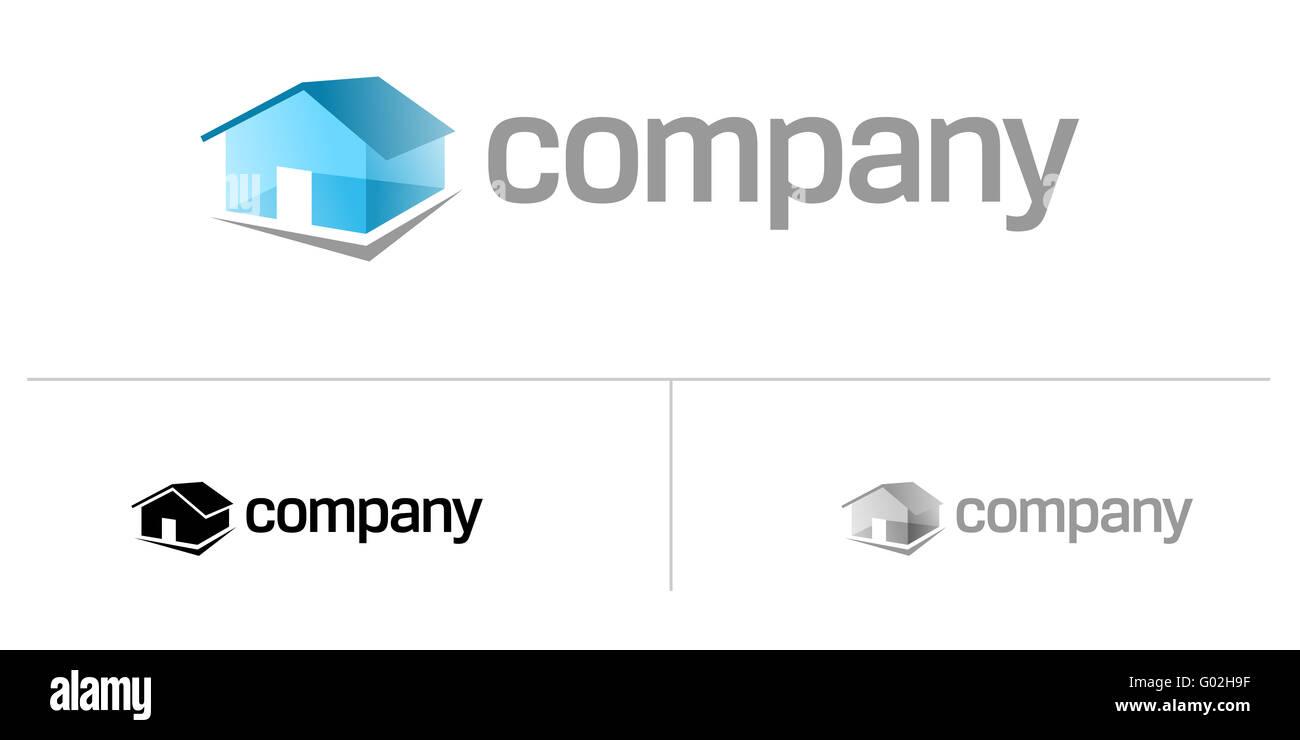 House logo - Stock Image
