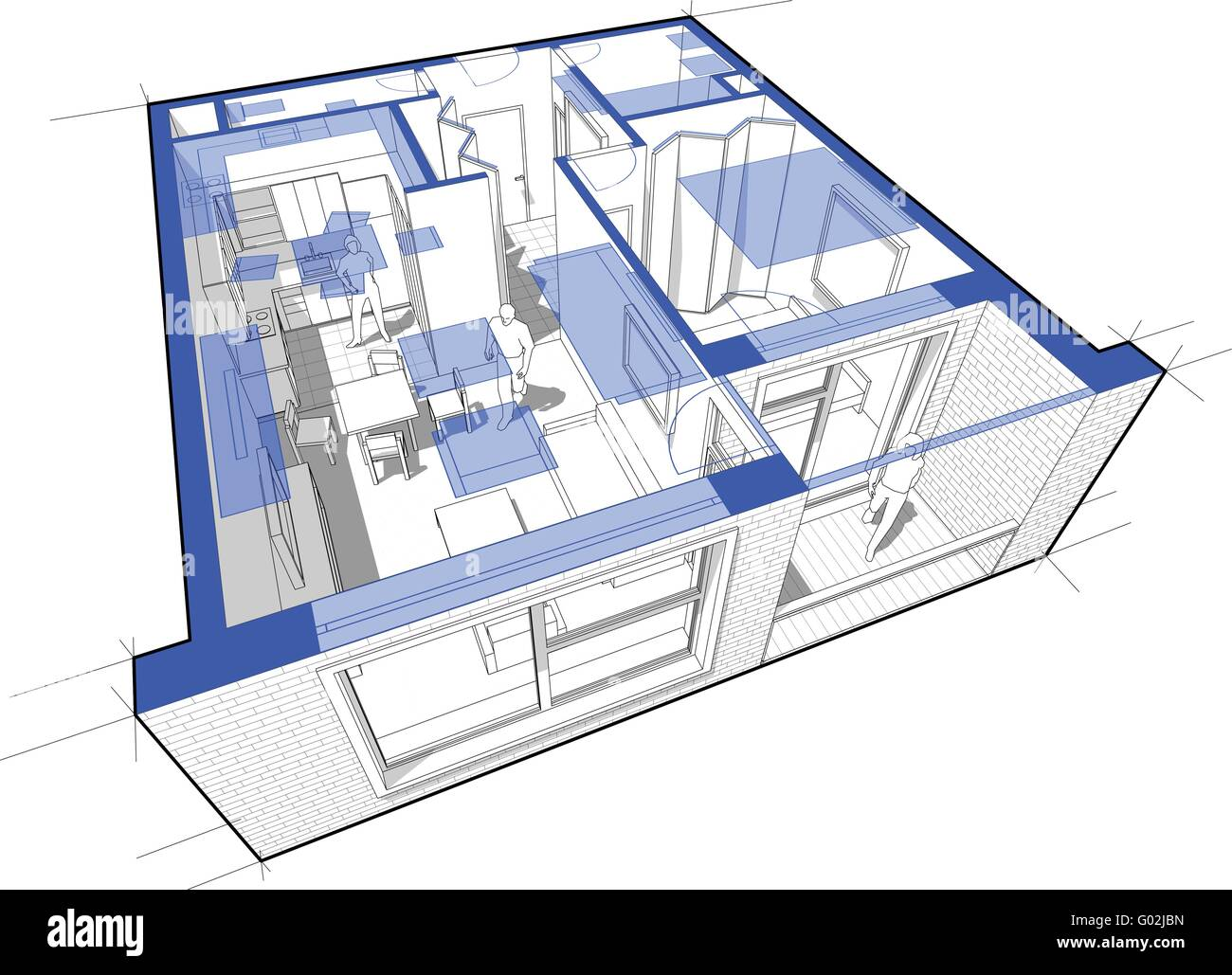 Perspective Drawing High Resolution Stock Photography And Images Alamy