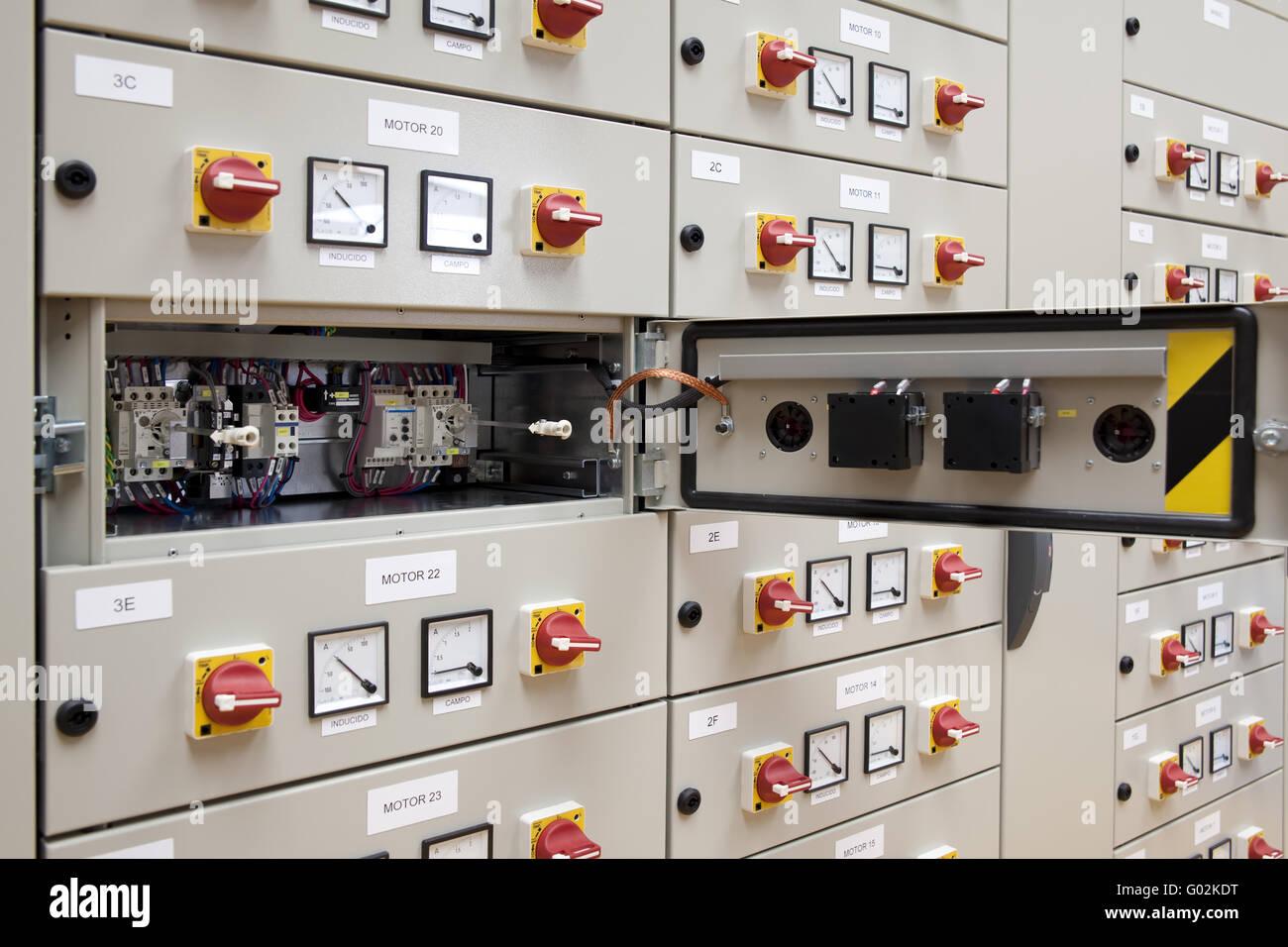 Electrical panel board Stock Photo: 103321396 - Alamy
