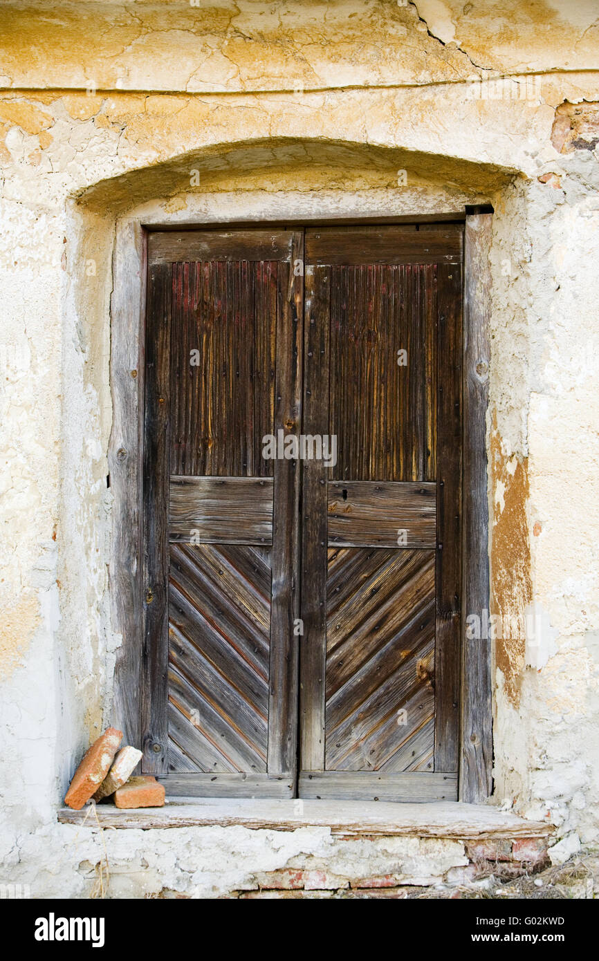 entrance in a wine cellar - Stock Image