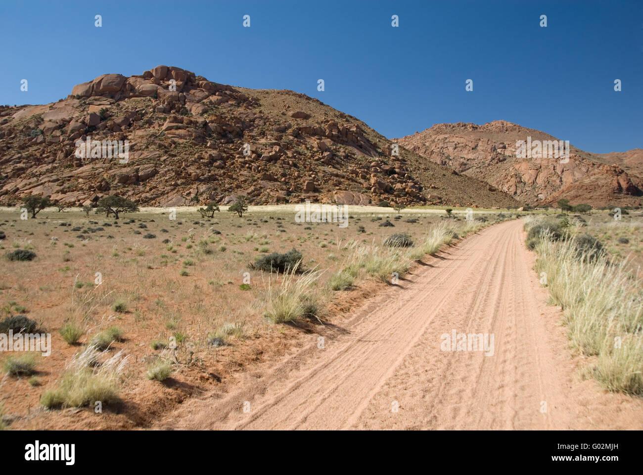 mountain landscape - Stock Image