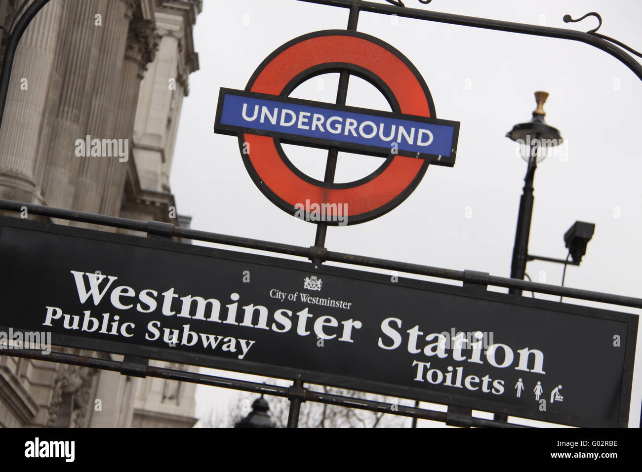 London Underground by day - Stock Image