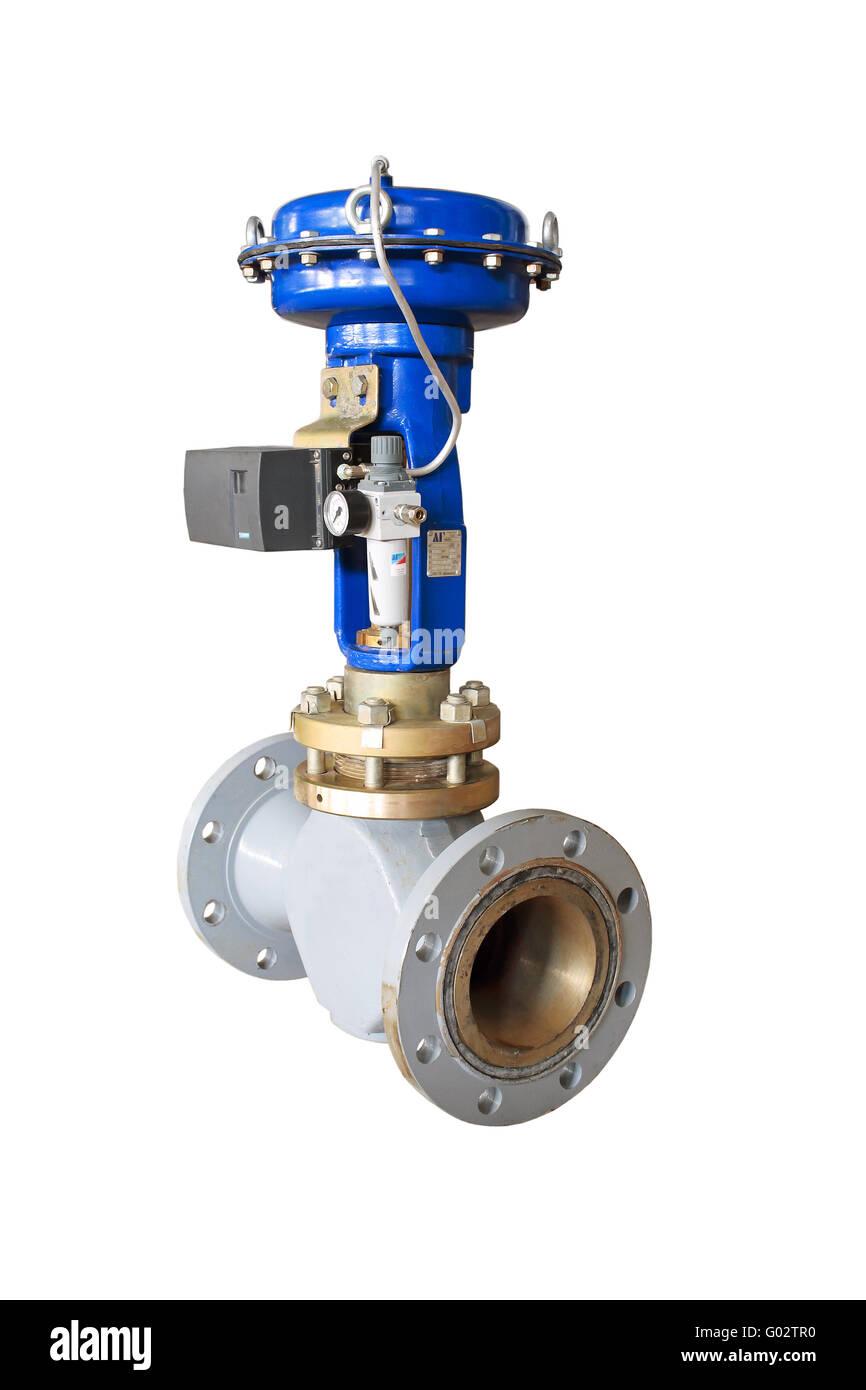 Air valve. - Stock Image