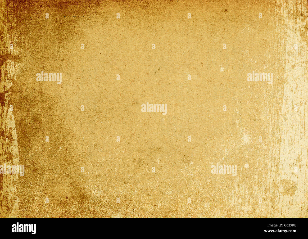 Vintage brown stained background (A4 format, horizontal orientation). - Stock Image