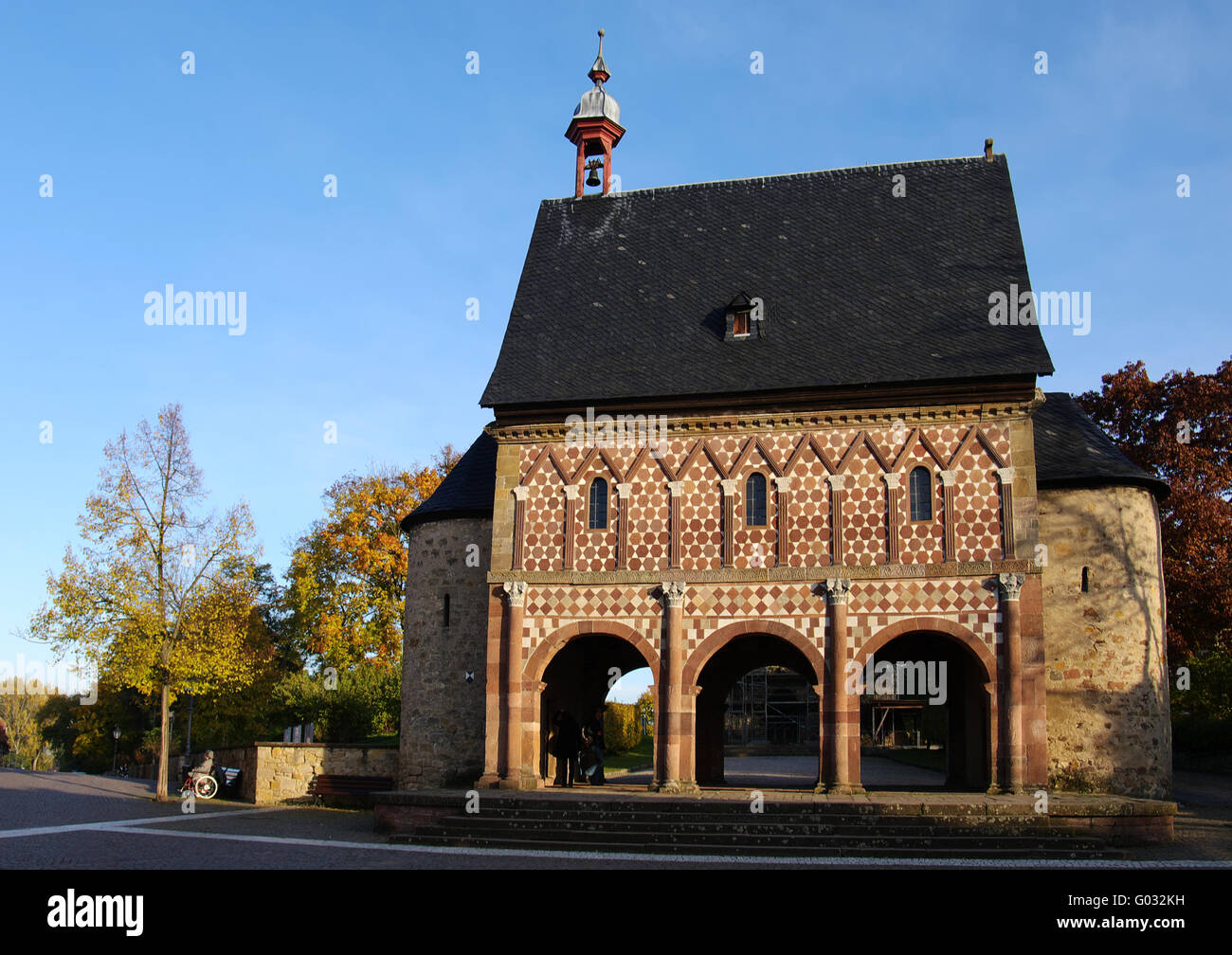 monastery  Lorsch - Stock Image