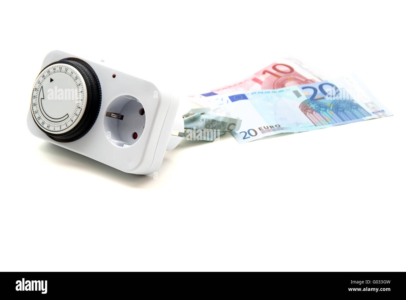 electricity rate Stock Photo