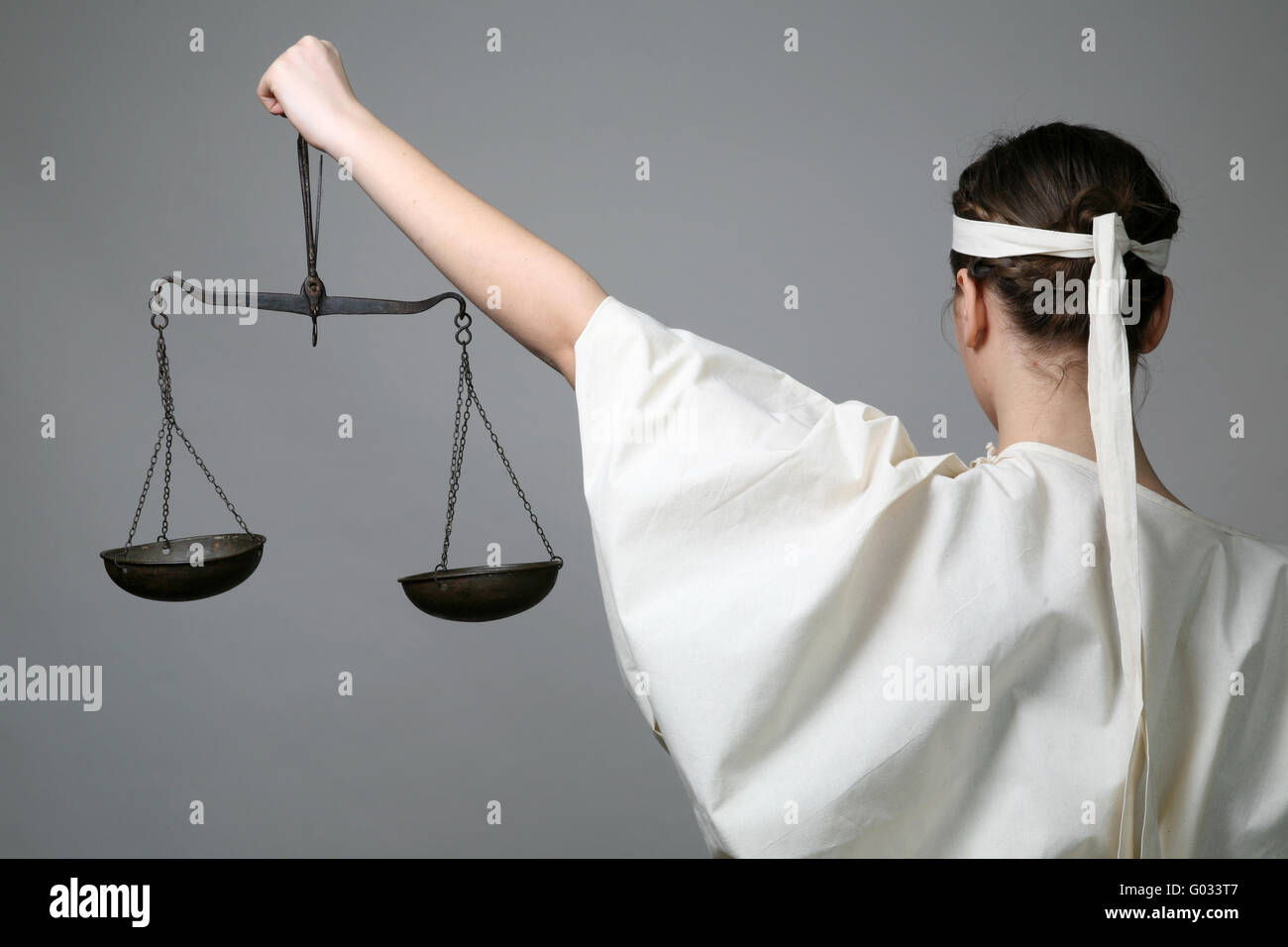 Lady Justice - Stock Image