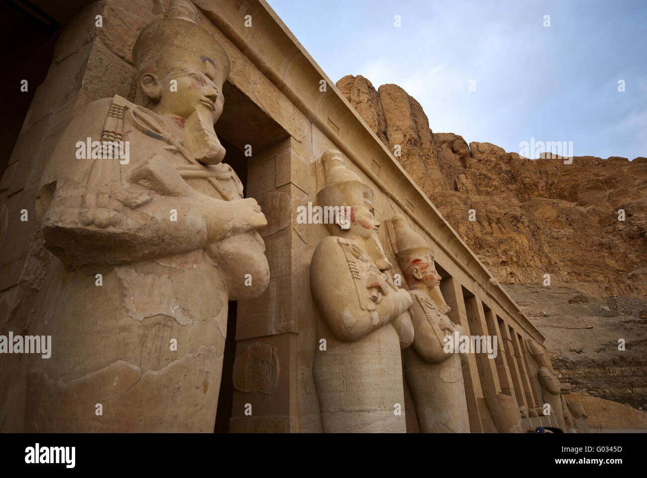 stone statues - Stock Image