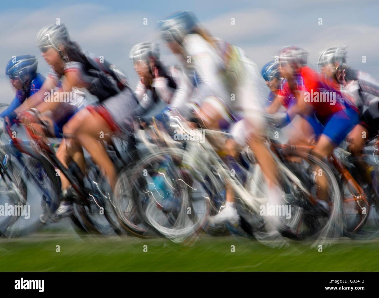 Cycle Race - Stock Image