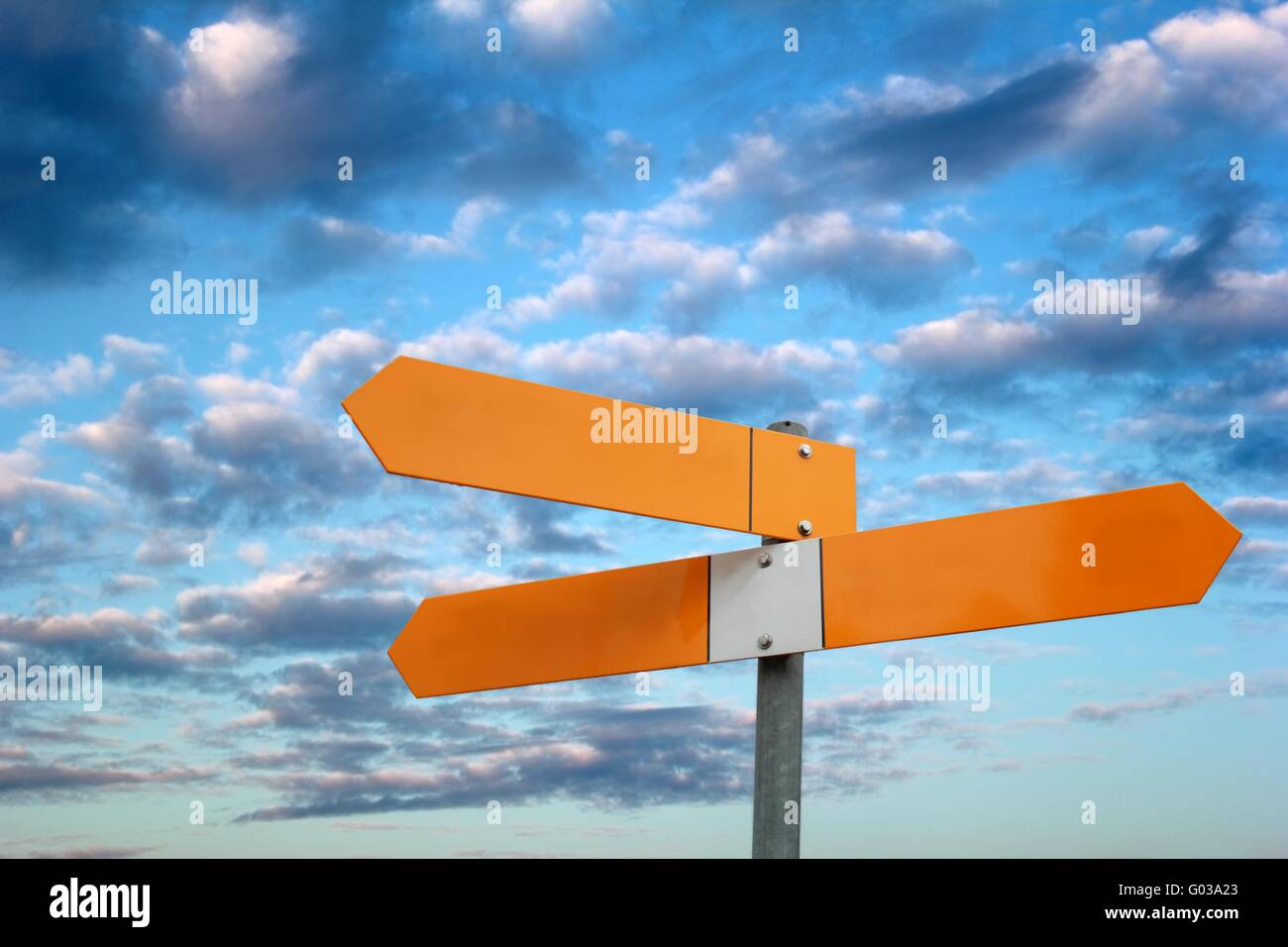 signpost Stock Photo