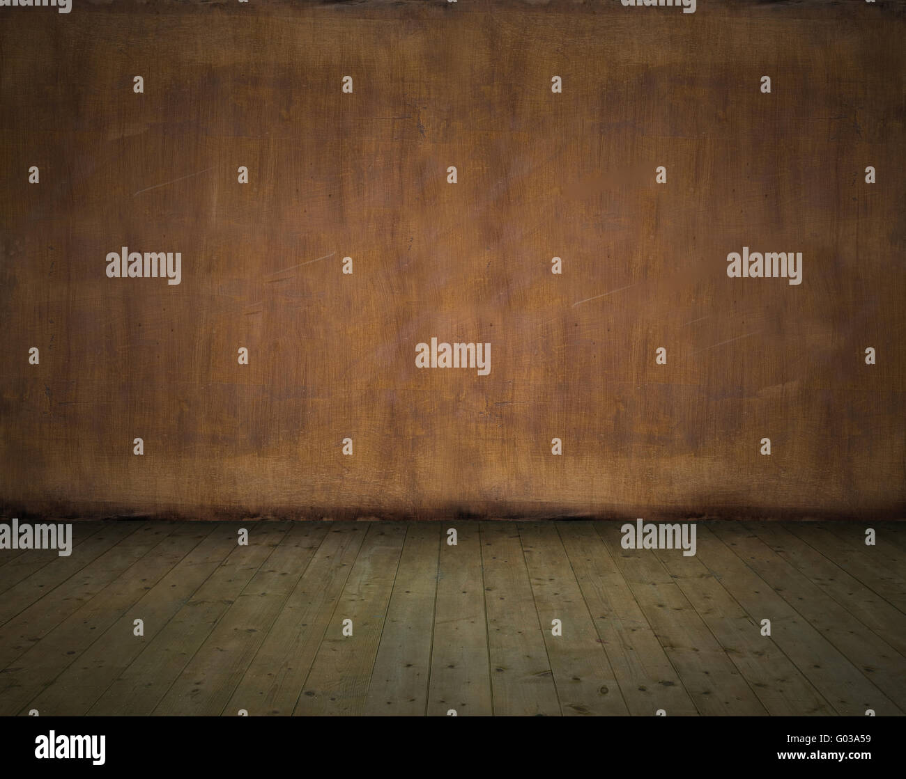 Grunge abstract empty room - interior background image - Stock Image