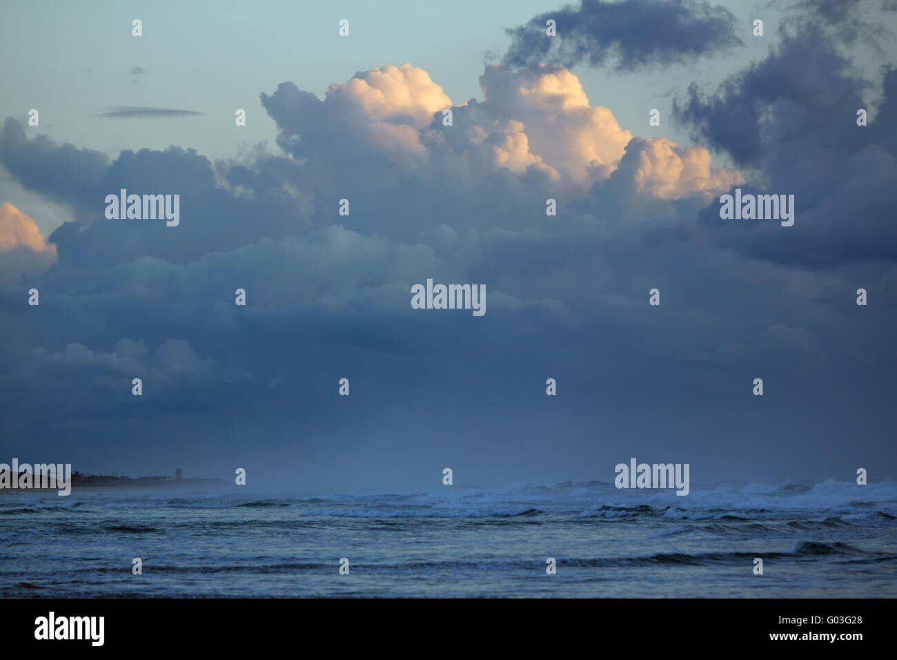 Sky in Conil. Andalusia - Stock Image