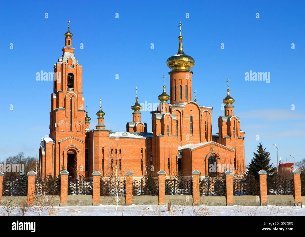 Russian church - Stock Image