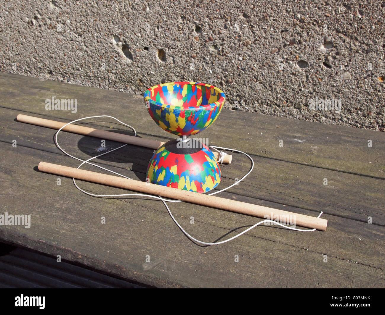 juggling - Stock Image