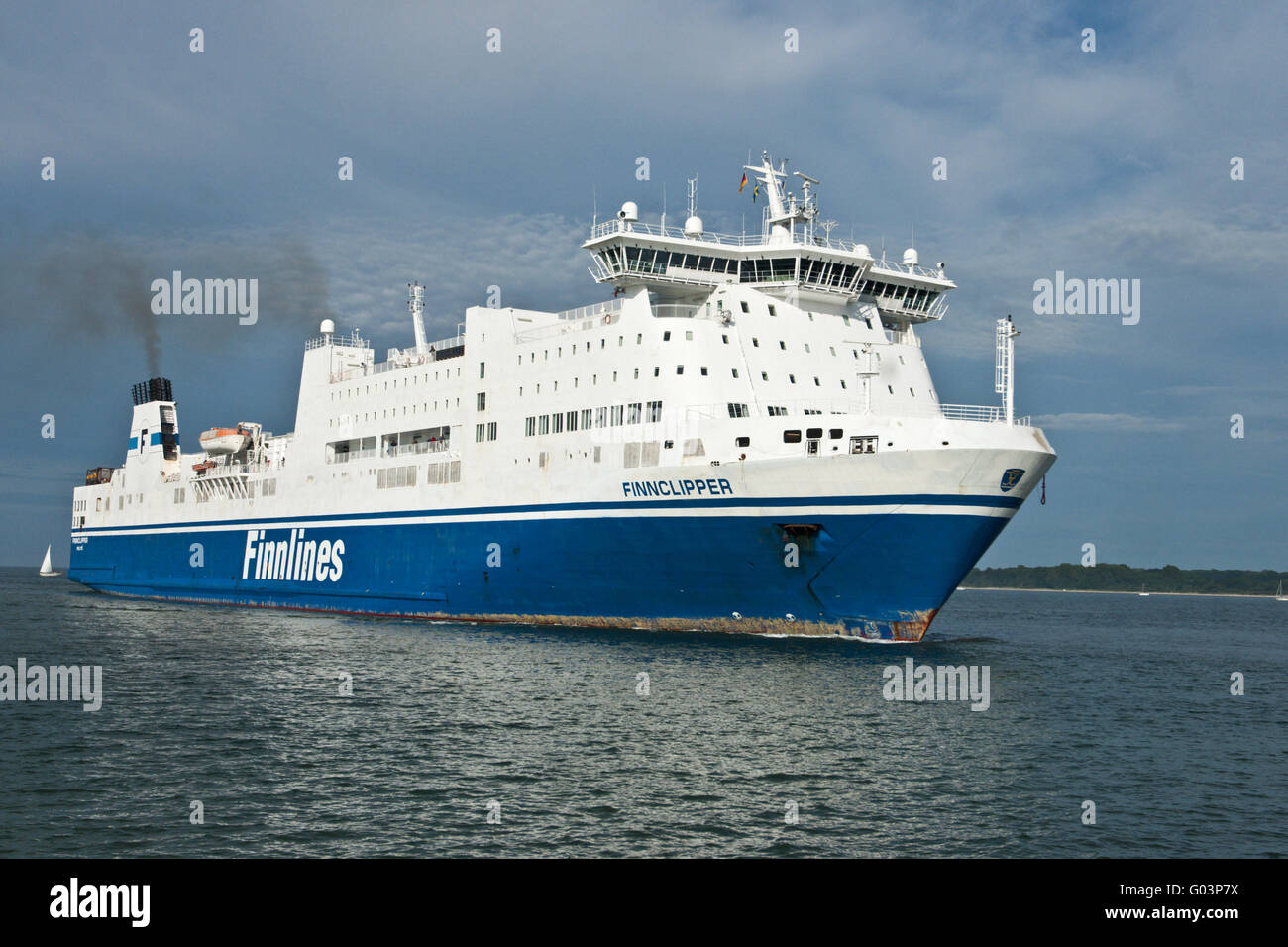 Ferry Finnlines - Stock Image