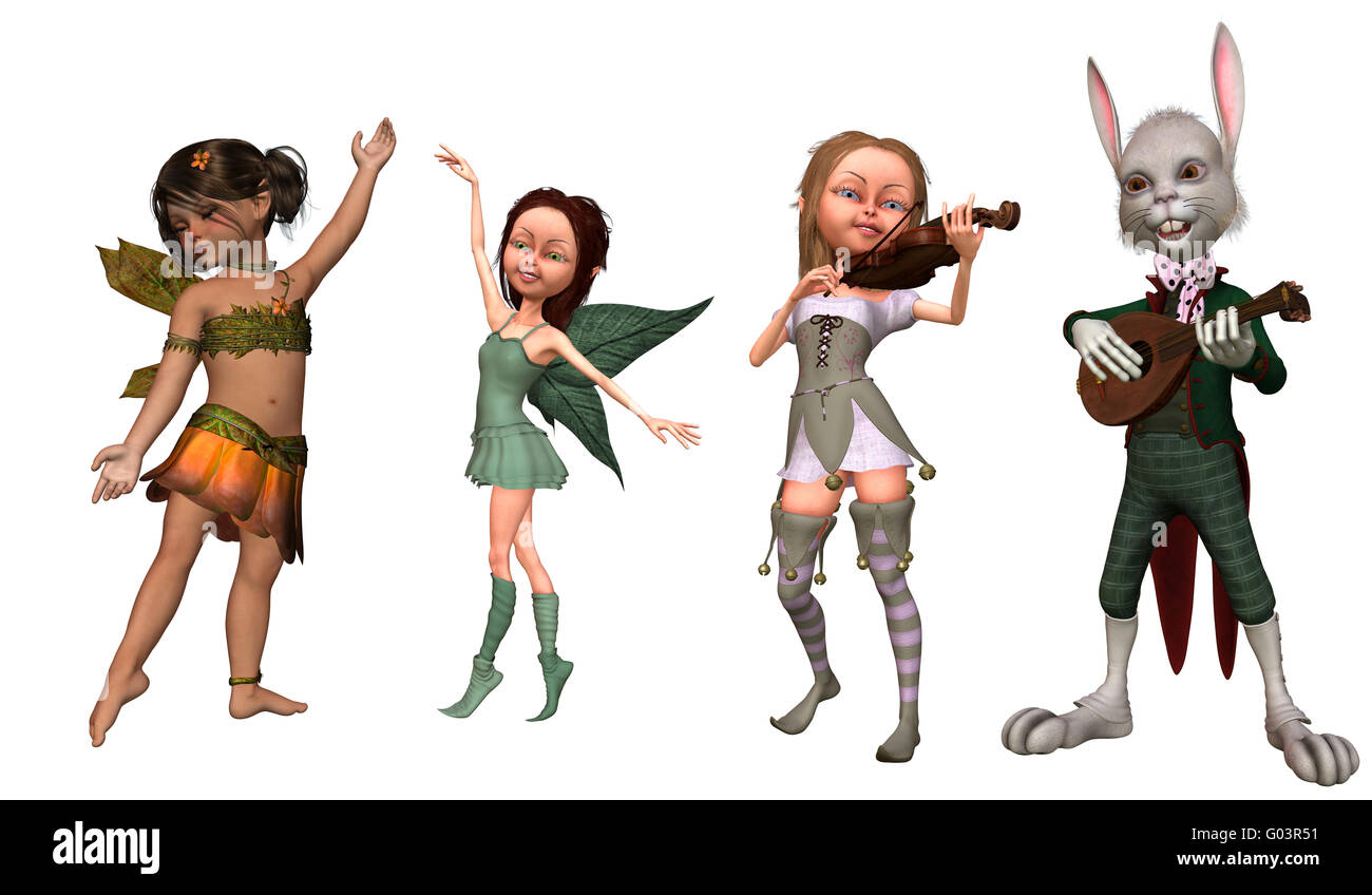 Fairy Tale Characters Stock Photos & Fairy Tale Characters Stock