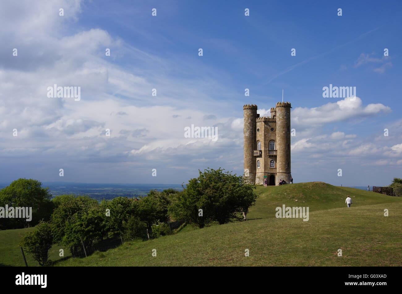 Broadway Tower UK - Stock Image