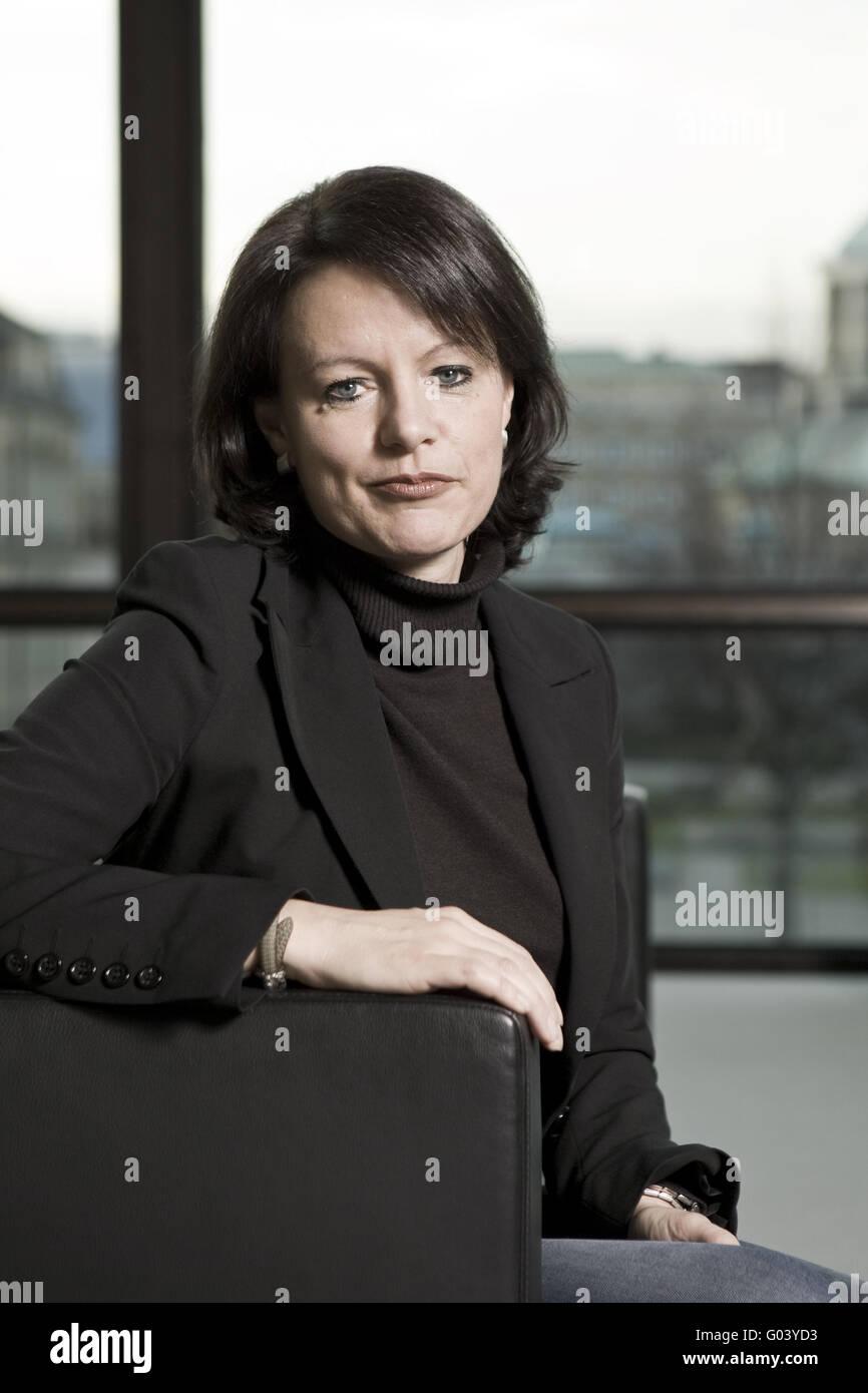 Viktoria Schmi, Member of state parliament - Stock Image
