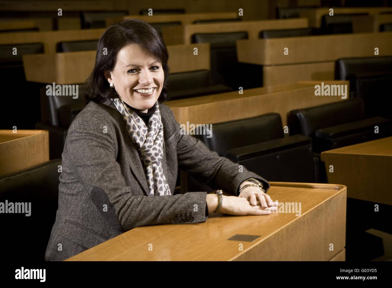 Viktoria Schmid, member of state parliament - Stock Image