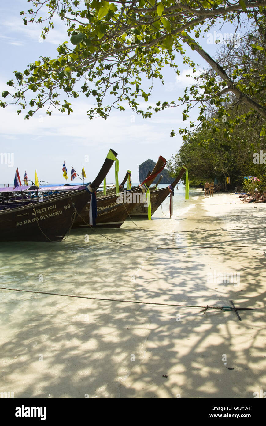 Thailändische Insel Chicken Island - Stock Image