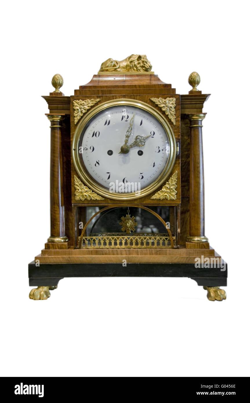 An antique clock Stock Photo