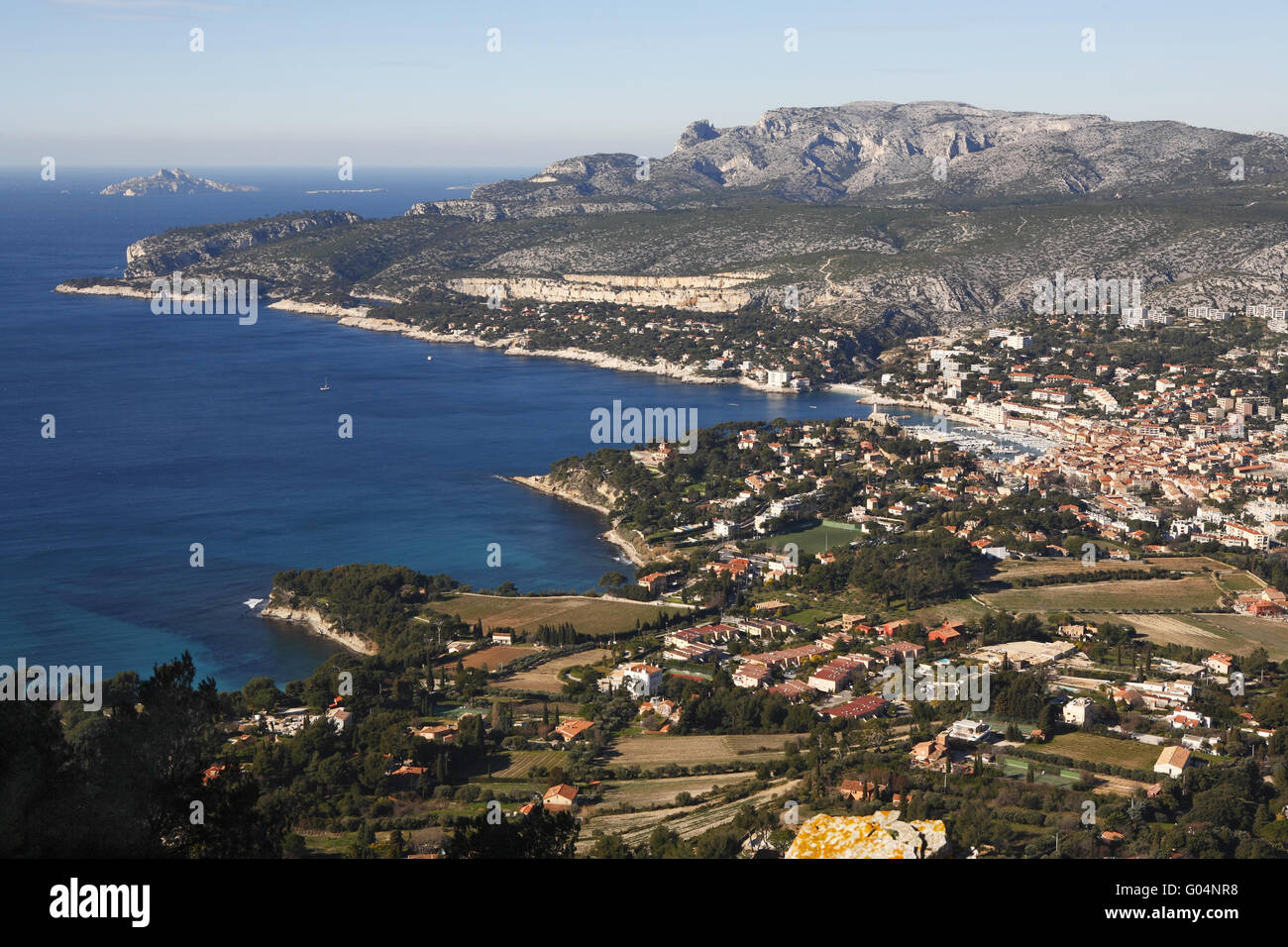 Cassis, France - Stock Image