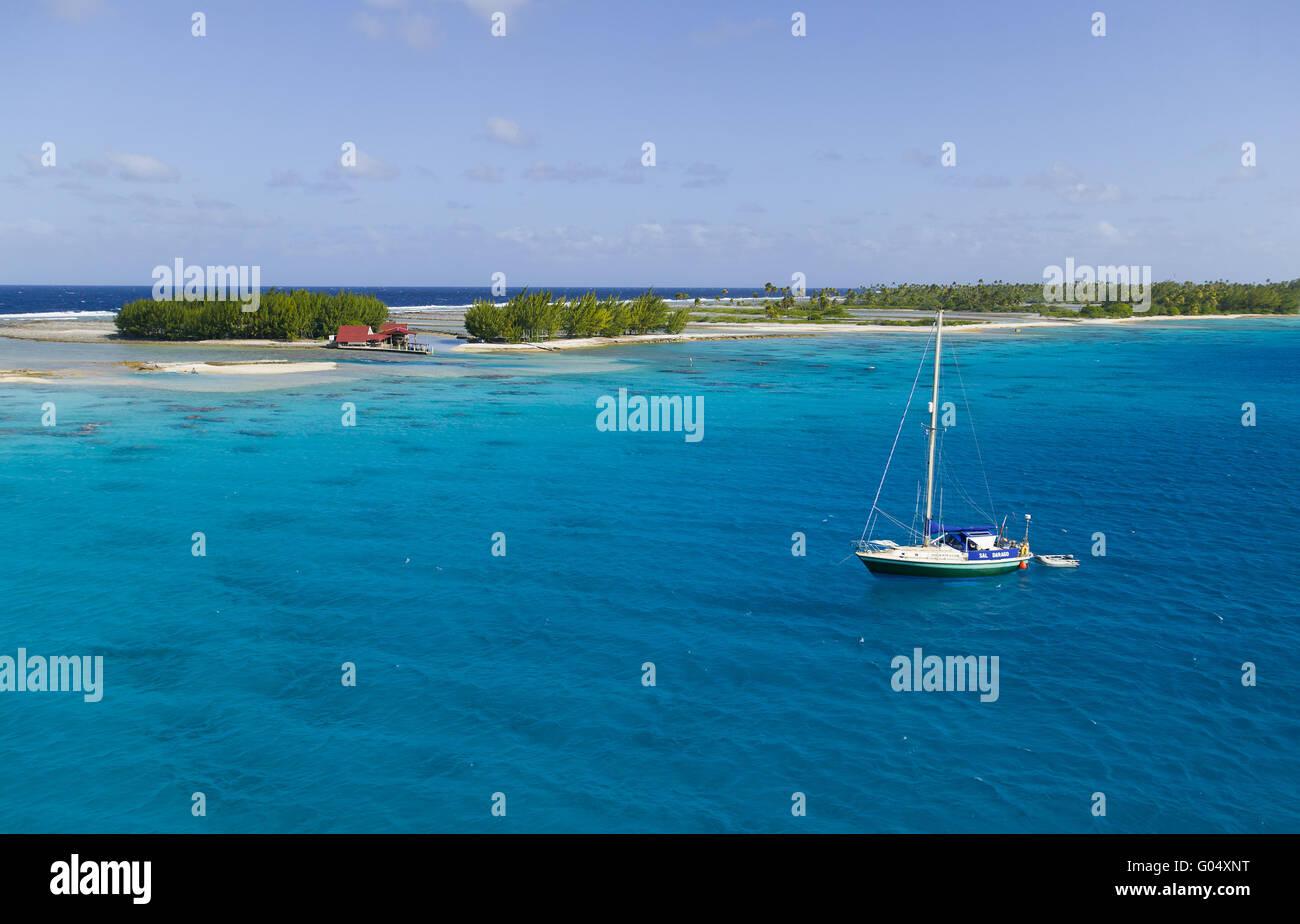 Fakarava Atoll, Tuamotus - Stock Image