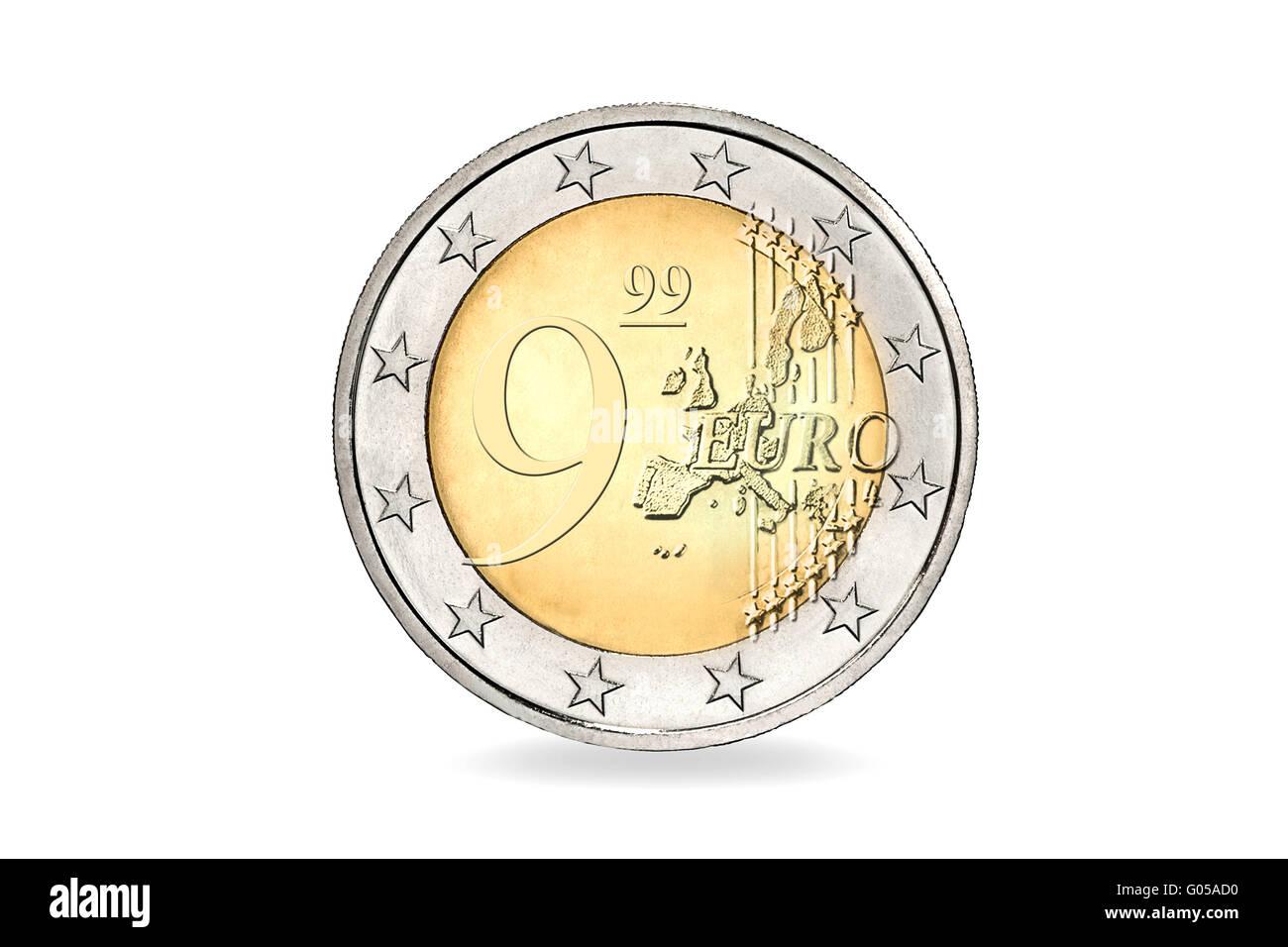 9,99 EUR - Stock Image
