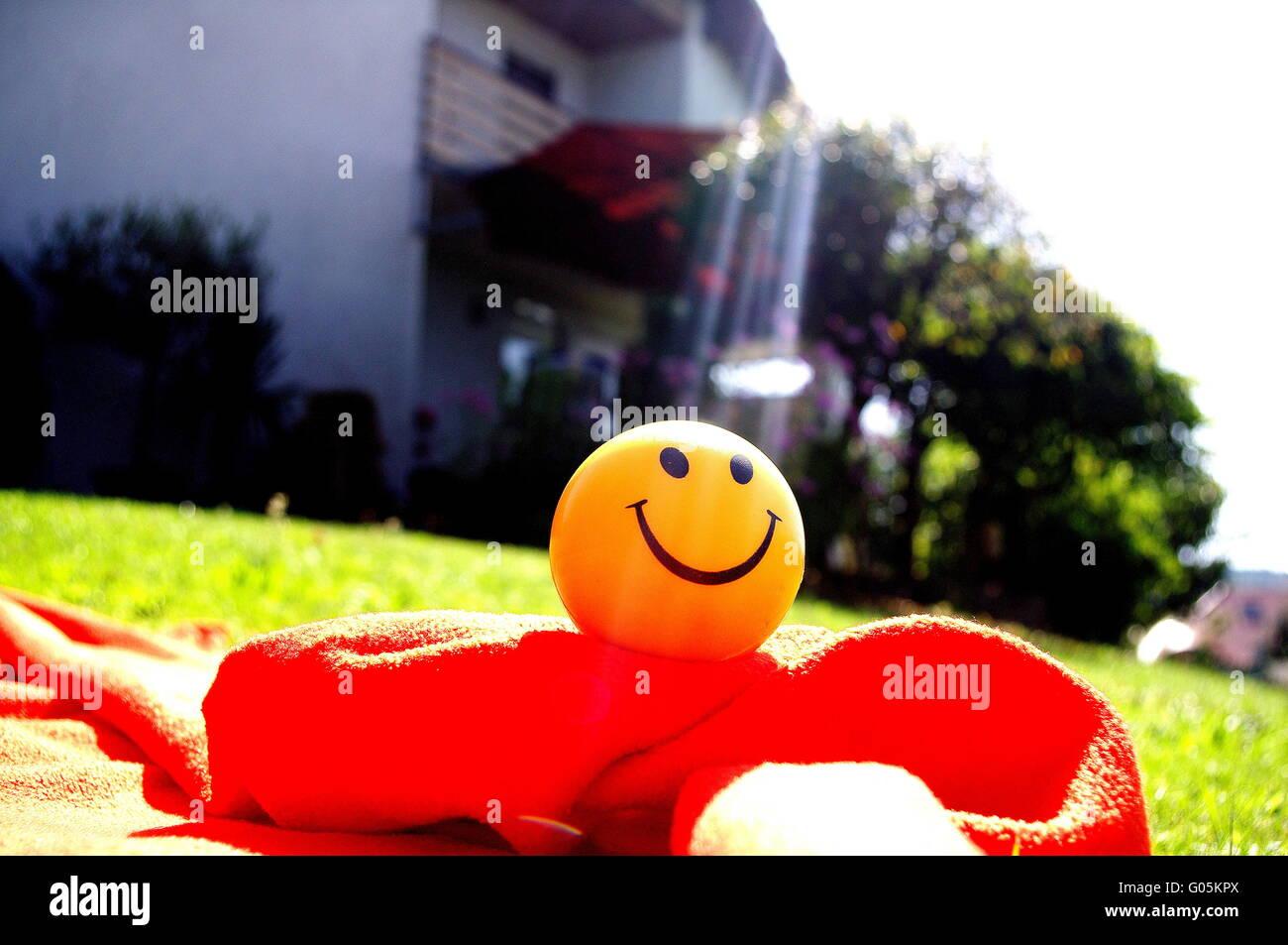 Let the sun shine - Stock Image