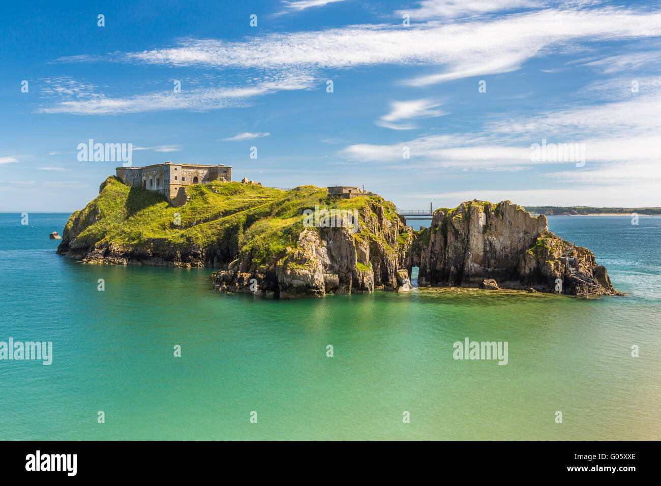Tenby St Catherines Island