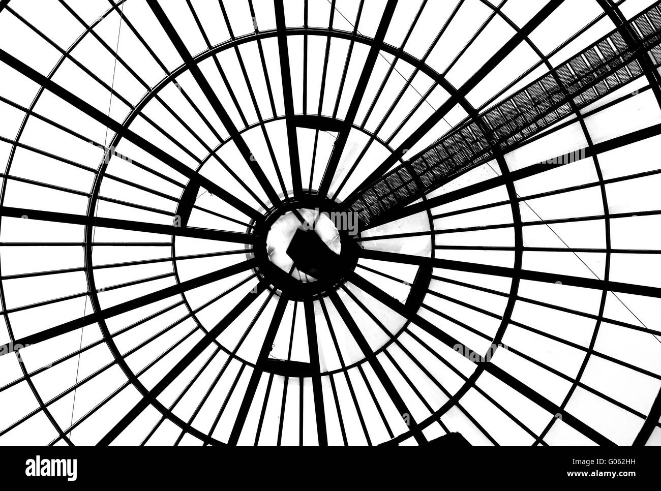 Domed roof - Stock Image