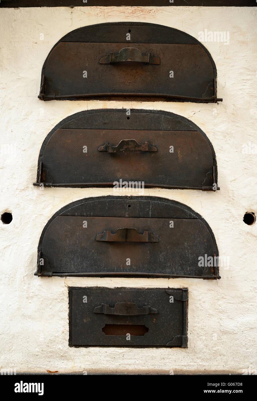 baking oven - Stock Image