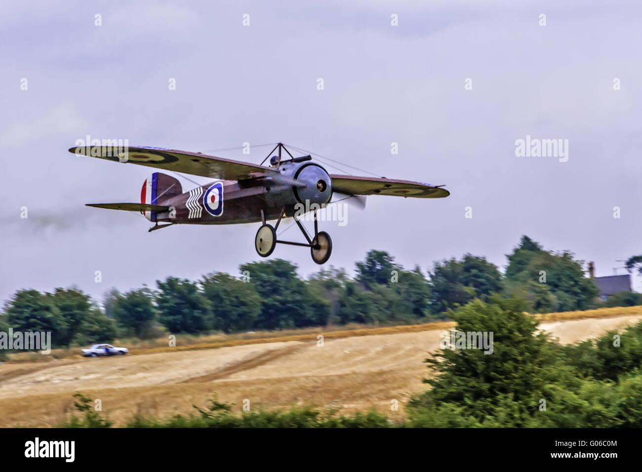 Bristol M1C Aircraft Shuttleworth Collection UK - Stock Image